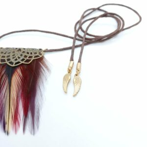 collier-plastron-plumes-naturelles-coq-rouge-et-bronze-Albane-decoplumes